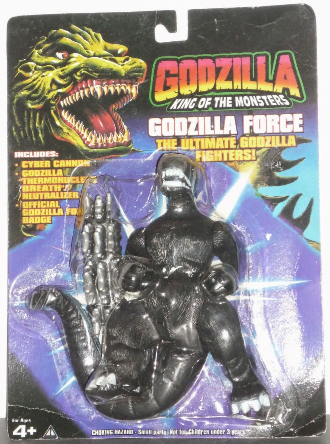 "the sphinx: ""Godzilla Force"" Bootleg Trendmasters 6-Inch ..."