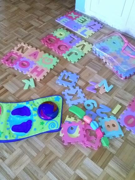 Crianza Puzzle de goma eva