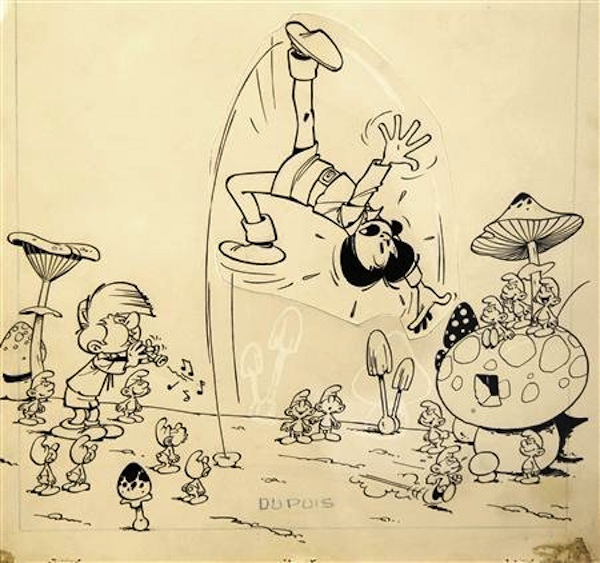 The very first drawing of famous cartoon characters such as, Lion King , The Simpsons, Mickey Mouse, Nemo, Toy Story, and Yogi Bear.
