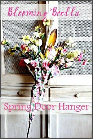 Spring Door Hanger