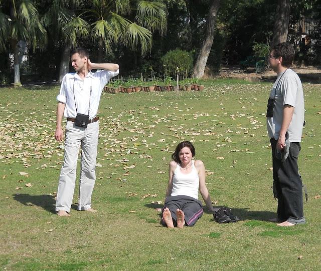 в парке Каджурахо
