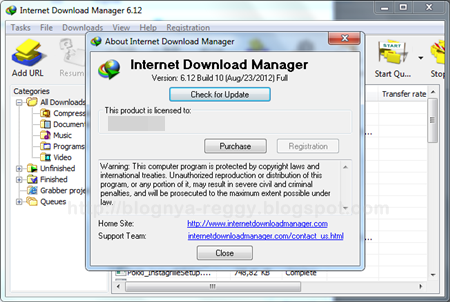 Free Full Version Softwares Tricks And Tips: IDM 6.15 Full version