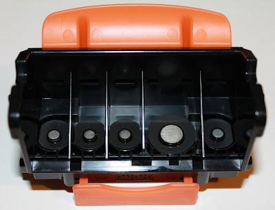 Тип ПГ неправильный, установить правильную печатающую головку