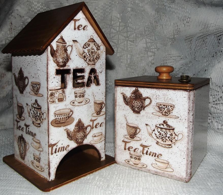 Подарки из чайных пакетиков своими руками 21