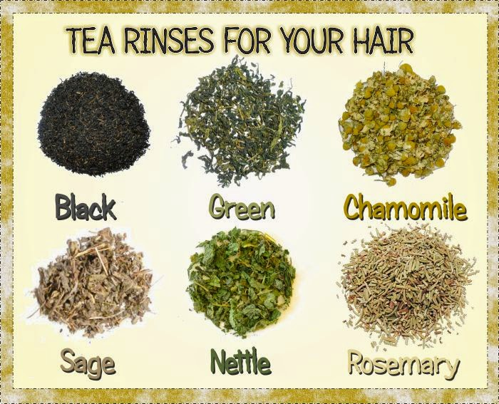 Tea Rinses for Natural Hair Shedding