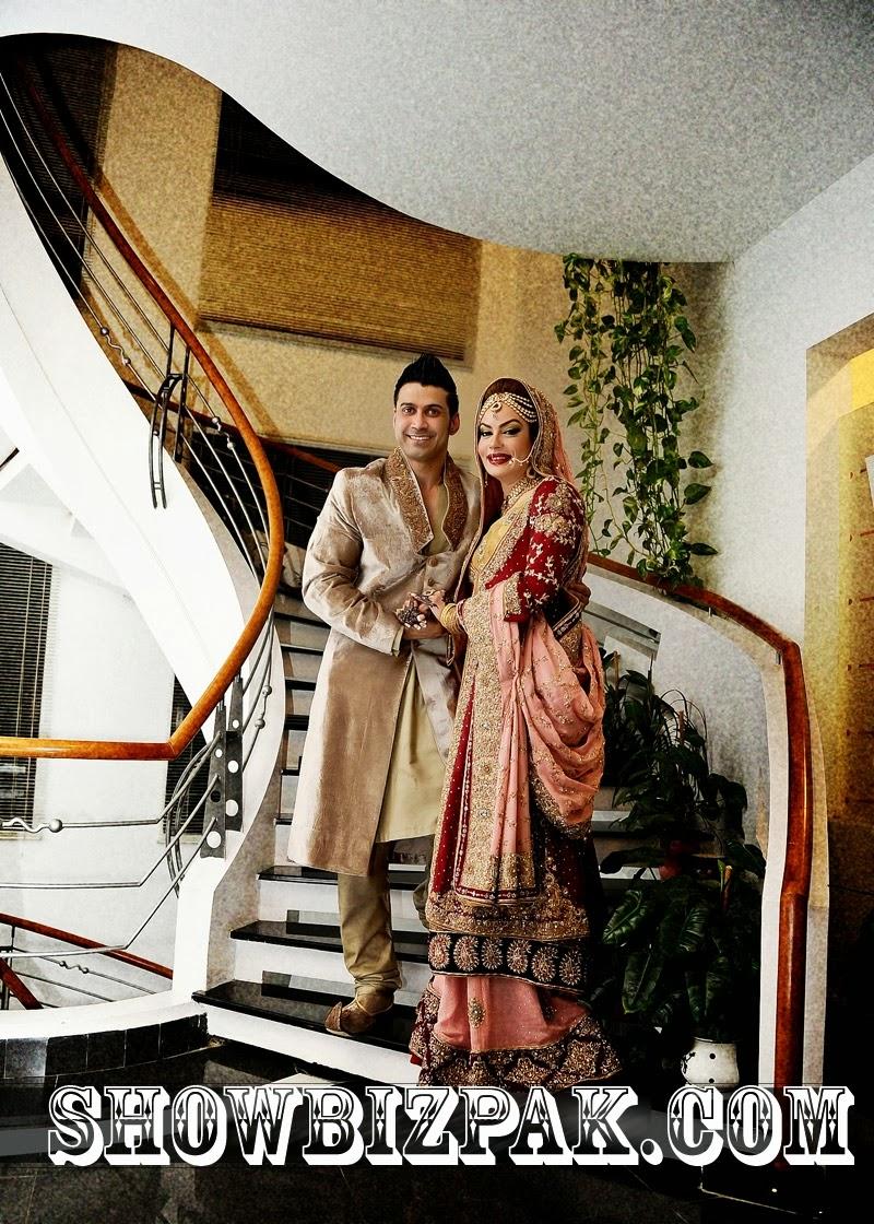 celebrity weddings sadia imam wedding pics