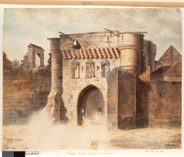 Sens ville fortifi e iii iv me s les anciennes portes des for Porte saint antoine