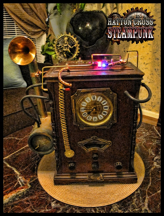 The Noble Hare Hatton Cross Steampunk Steampunk Home Decor