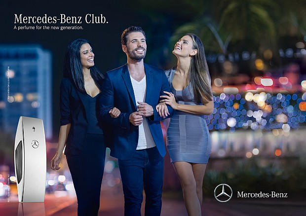 Reklama perfum Mercedes-Benz Club