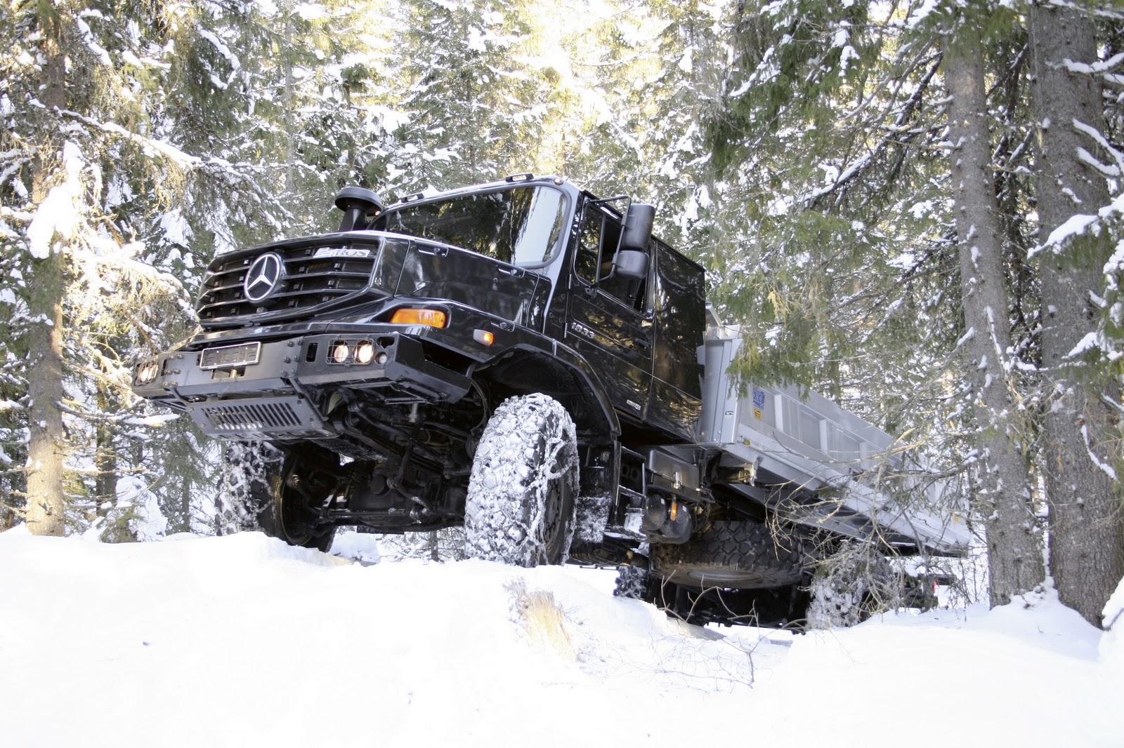 Mercedes Benz Zetros 6x6 Vehicle Autos Post
