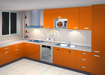 small modern kitchen interior design