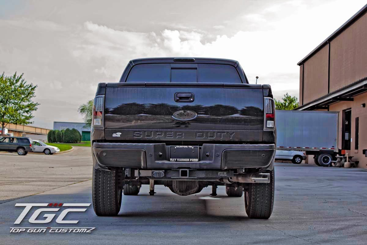 TGC - Top Gun Customz - Ford F250 Super Duty Custom Build with TGC Stage 2 6 inch Suspension Lift Kit