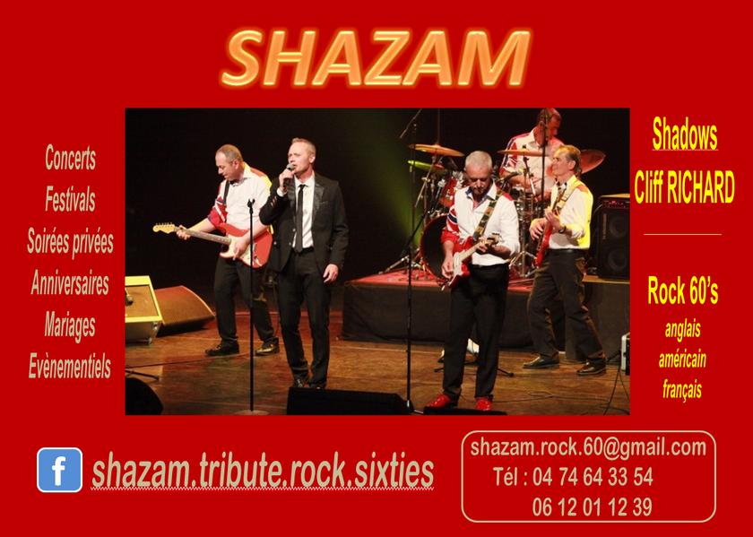 SHAZAM : Rock 60's : Shadows - Cliff RICHARD - Chuck BERRY - Elvis PRESLEY...
