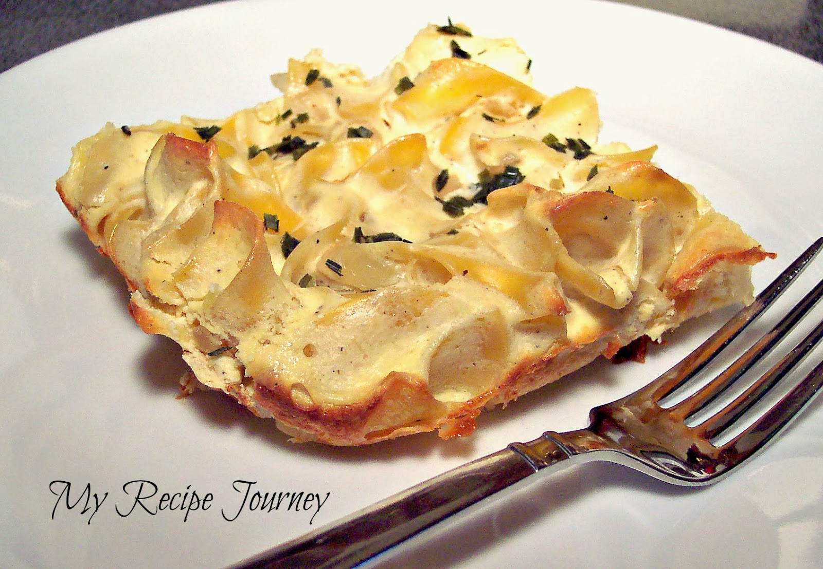 My Recipe Journey: 3 Cheese Noodle Pudding