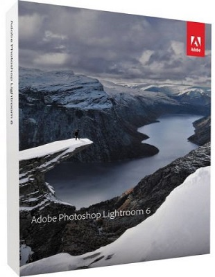Adobe Photoshop Lightroom CC 6.12 poster box cover
