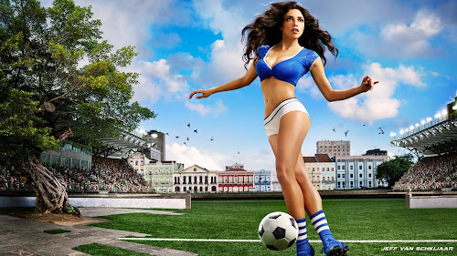 sexy soccer wallpaper