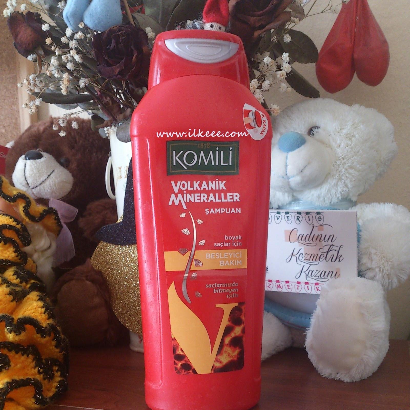 Komili Volkanik Mineraller Şampuanı- Komili-Besleyici Bakım