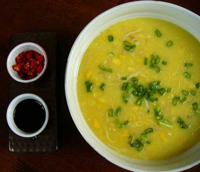 ... sup jagung yang biasa? Anda bisa mencoba Resep Sup Bubur Jagung