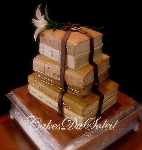 Floor To Ceiling Books Cool Cakes For The Geek In Your Life