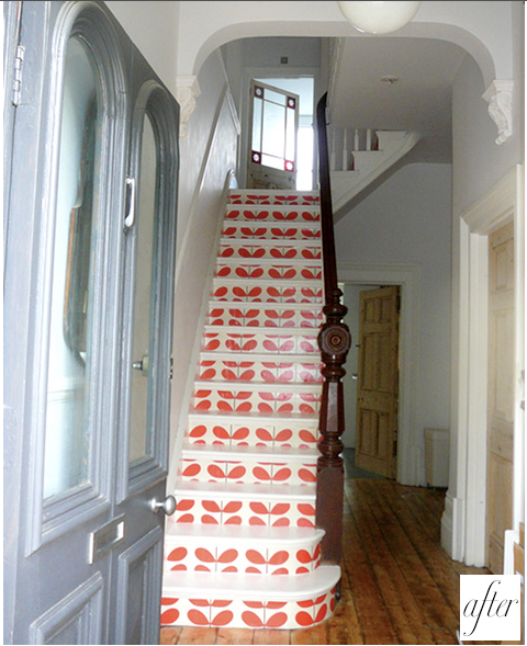 Wallpaper Stairs: Walls: Wallpaper Inspiration...Stairs And Stairwells
