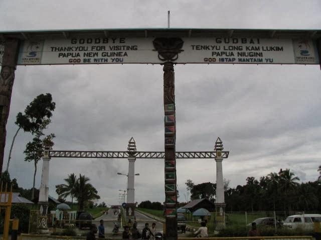 Melintas Batas 2 Negara: RI - PNG, Sebuah Perjalanan Yang Tak Terlupakan