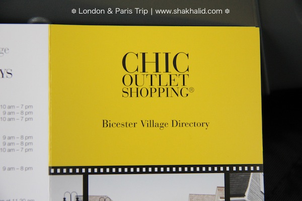 premium beautiful bicester village directory