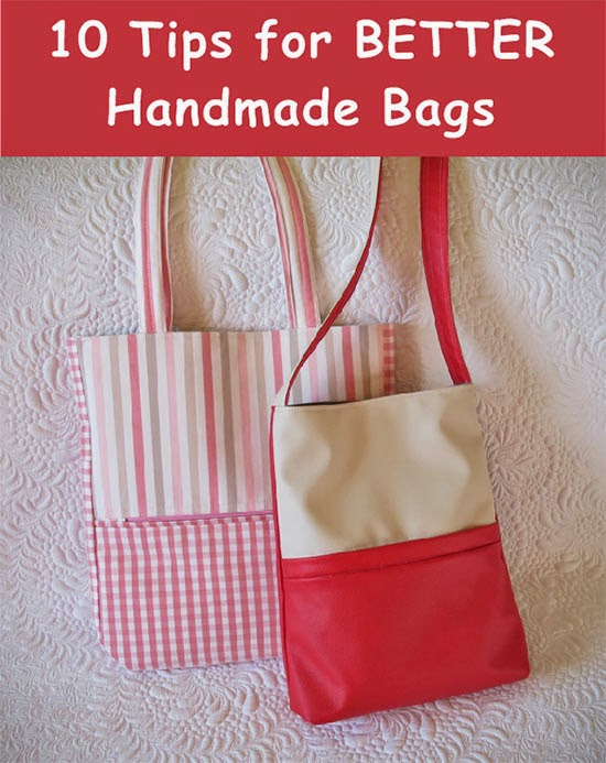 Tips for Better Handmade Bags