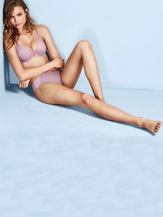 Victoria's Secret May 2015 Lookbook featuring Josephine Skriver