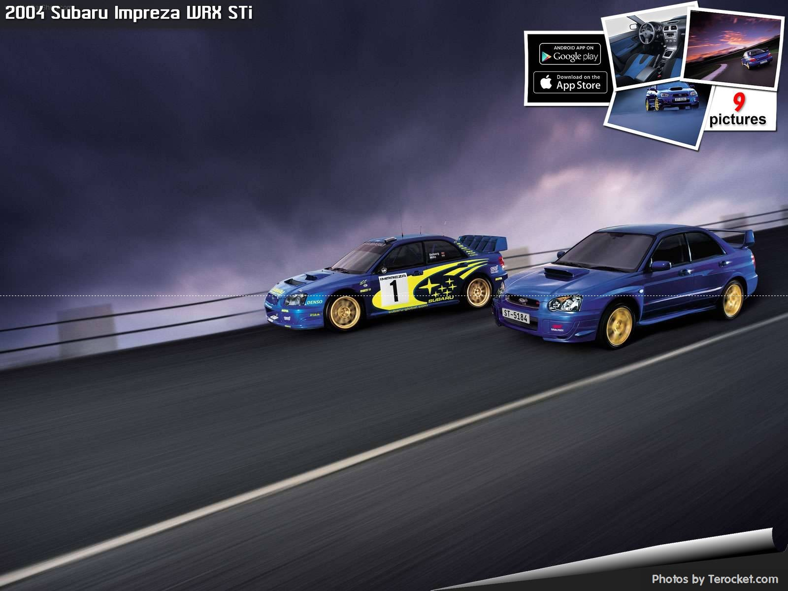 Hình ảnh xe ô tô Subaru Impreza WRX STi 2004 & nội ngoại thất