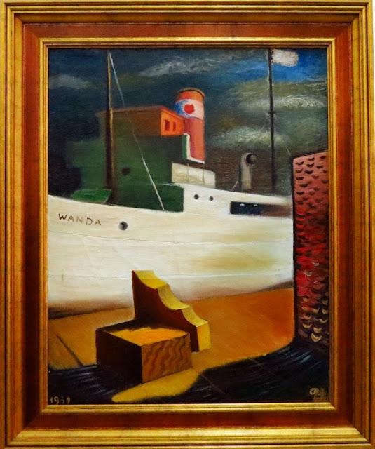 Роман Сельский, Корабль Ванда, 1931