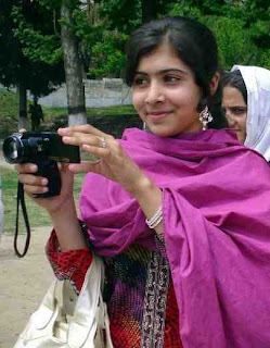 Malala Yasufzai- should be nominated for a Nobel Prize