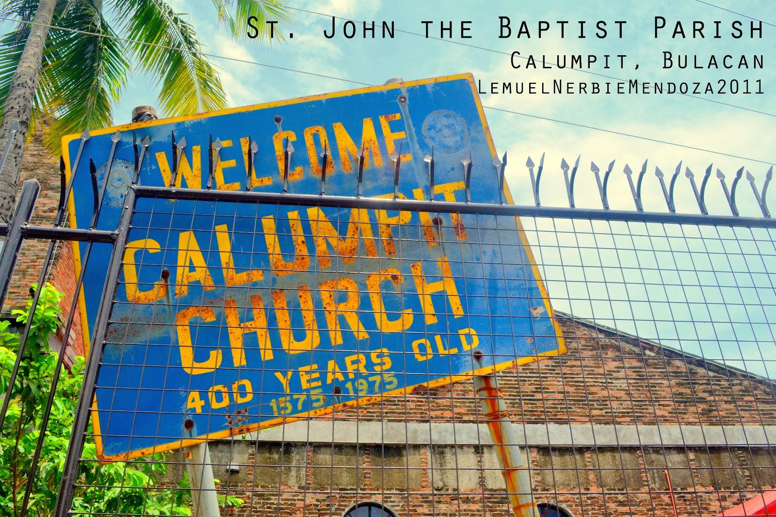 Calumpit Philippines  city images : Iglesias de las Filipinas: CALUMPIT, Bulacan: St. John the Baptist ...