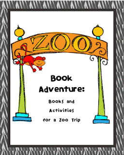 zoo preschool theme, printable, image