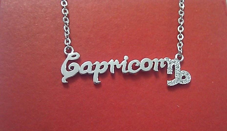 Dây chuyền bạc theo 12 cung hoàng đạo Capricornus - Ma Kết