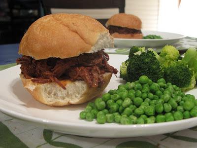 pulled pork beef