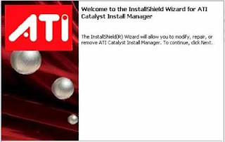 ATI Catalyst Install Manager: Review, ATI Catalyst Install Manager