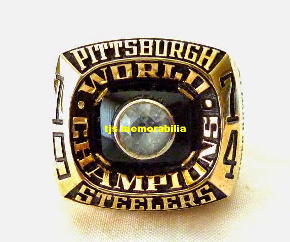 Steelers 1st Super Bowl Ring