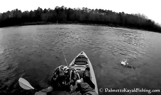 Palmetto kayak fishing cold weather kayak fishing gear on for Cold weather fishing gloves