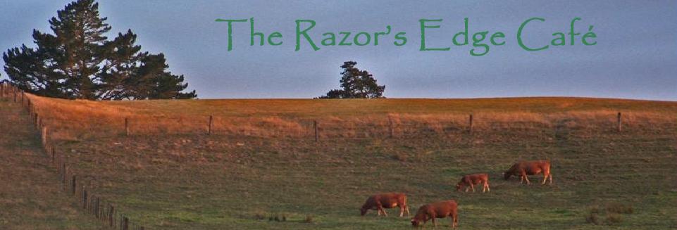 """The Razor's Edge Café"""