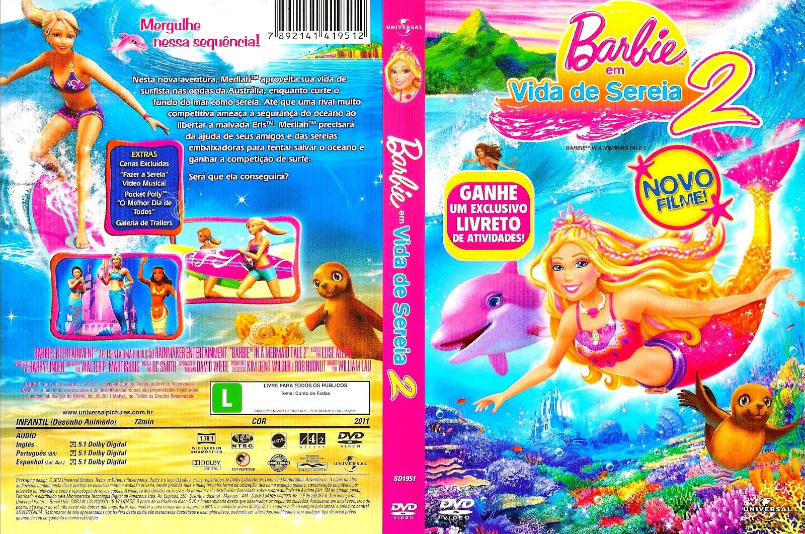 imagens para colorir da barbie em vida de sereia 2 - Jogo Barbie Sereia Jogos de Pintar
