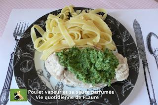 Vie quotidienne de FLaure: Poulet vapeur et sa sauce parfumée