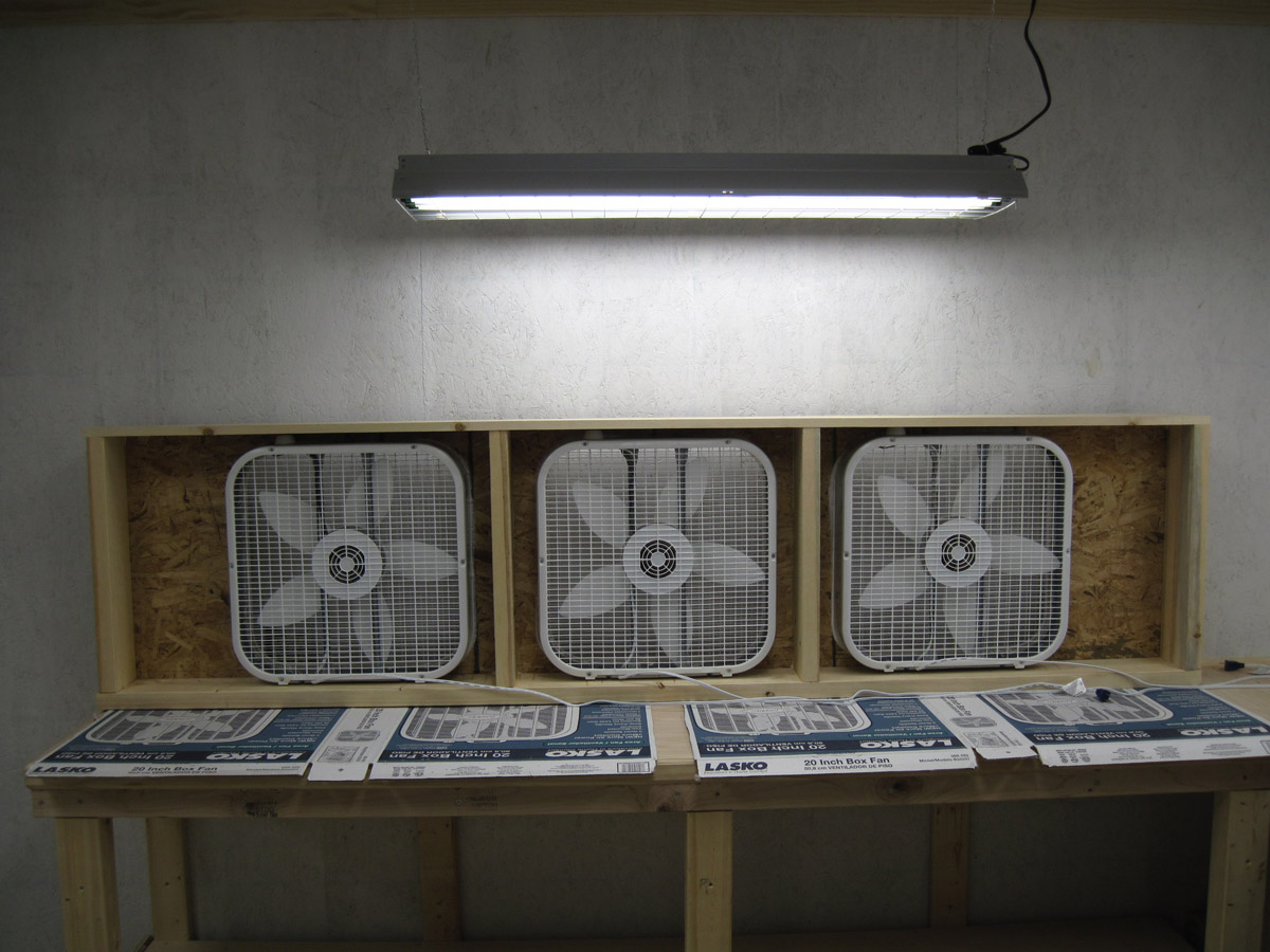 Martin S Rv 8 Blog Paint Booth Exhaust Fan Unit Built
