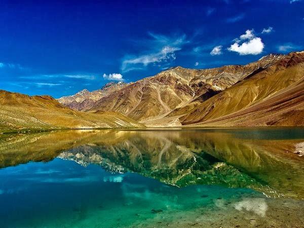 fotografías impresionantes, paisajes, lago luna, india