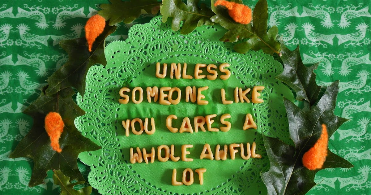 an analysis of greed and destruction in the lorax by dr seuss 9 business lessons dr seuss taught us by staff writer with the lorax now in theaters, you're probably reminded of all the important lessons dr seuss taught you in your childhood you learned to try new foods even if they were green and looked icky you discovered that letting strange cats into your house would likely lead to destruction.