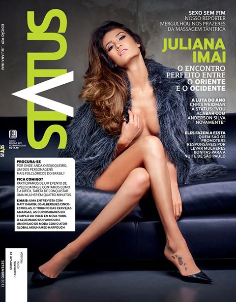 Revista Status Juliana Imai – Setembro – 2013 download baixar torrent
