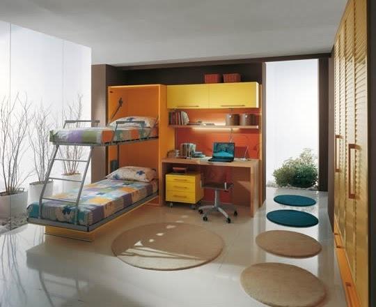 Decora y disena dise o de camas plegables para ni os modernas for Diseno de habitaciones para ninos