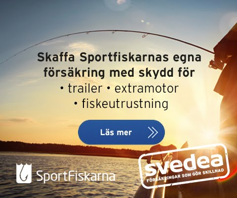Svedea/Sportfiskarnas båtförsäkring