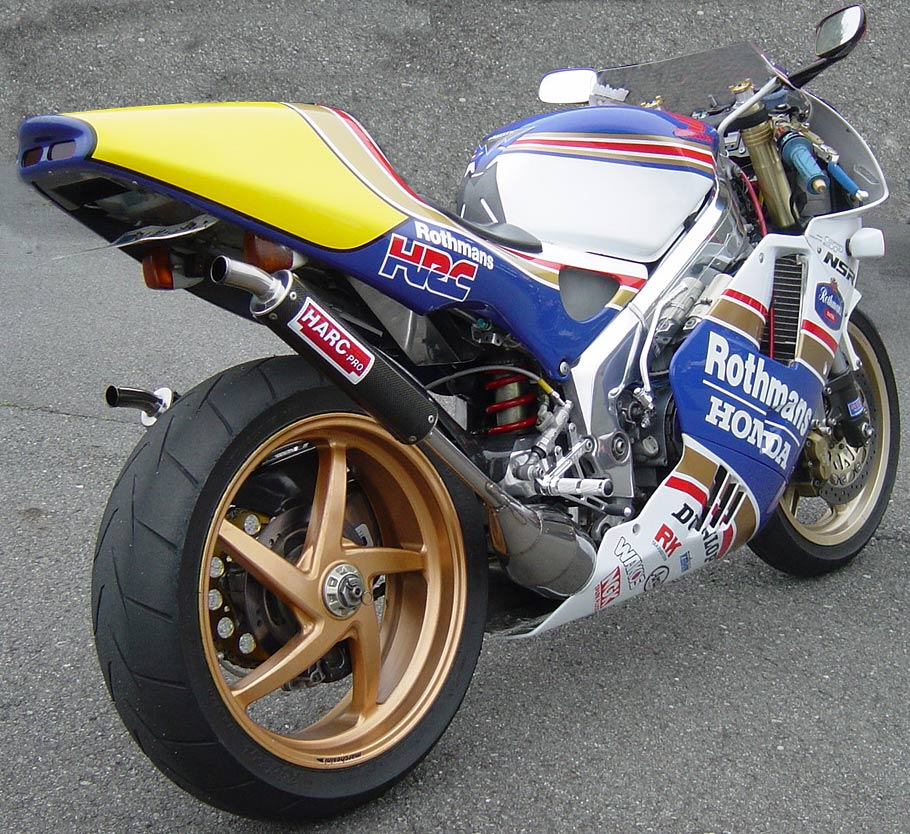 Planet Japan Blog Honda Nsr 250 Rothmans By Hirano