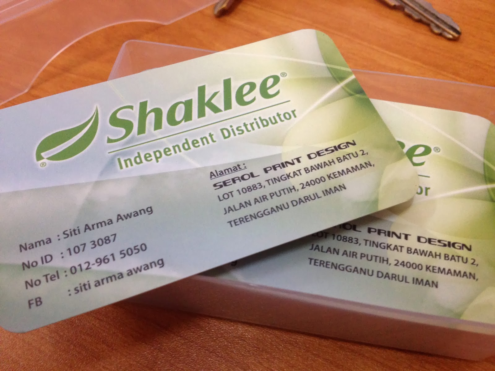 Jom join shaklee kami juga menerima tempahan contoh business card shaklee rm3000 1box magicingreecefo Images