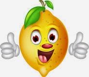limão desenho colorido